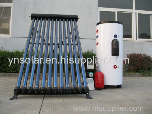 100L Split pressurized solar water heater with single coil