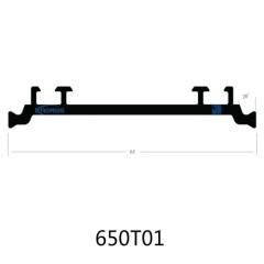 65mm Extruded PA66 GF25 Polyamide Thermal Break Strips