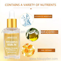 Private Label Vitamin C Serum For Face Skin Tightening Anti-Aging Serum Organic Skin Care Bottles Vit C Collagen Beauty