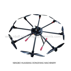 8 axles drones for pulling pilot rope