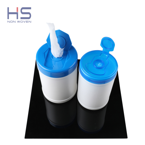 Economic DIY Canister Hand Sanitizing Cleansing Dry Wipes