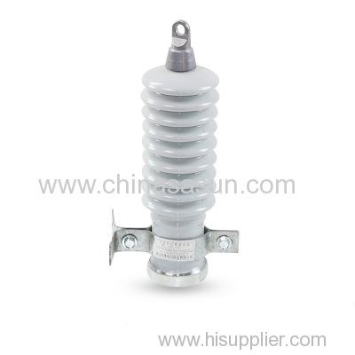 metal zinc oxide ceramic surge arrester power distribution