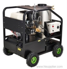 Hot water high pressure washer 100bar-270bar