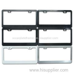 Aluminum alloy plate framework custom aluminum license plate frames Aluminum License Plate Frame Exporter
