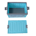 Plastic Turnover Box Logistics Crate Folding Box with Lid