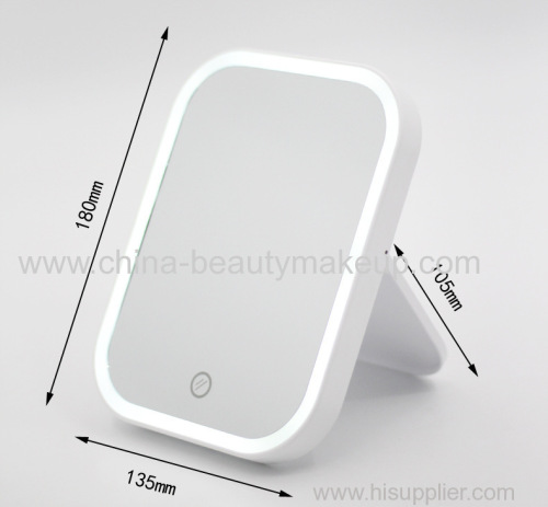 LED mirrors classic mirrors talble mirrors beauty supplies makeup supplies white mirrors pink mirrors