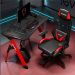 Sit and Stand up workstation electric heighe adjustable office desk