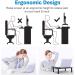 Hot Sales Adjustable Metal Desk Monitor Stand Riser with Desk Organizer Drawer