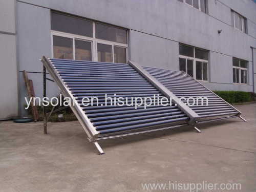 ButterflyType 50tubes Stainless Steel Vacuum Tube Solar Collector
