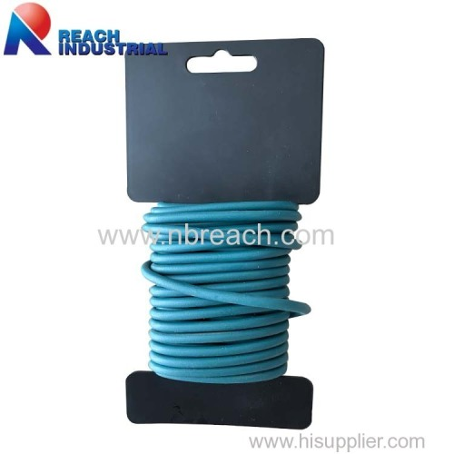 16FT(5 Meter) 5MM Diameter Multi-Function TPR Coated Iron Wire Twist Tie Garden Plant Soft Tie