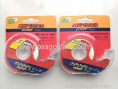 Stationery Tape Clear 18mmx33M With Dispenser Power Tape