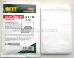 4x5Mx10micron Covering Tape. Protective Film. Per-Taped Film.