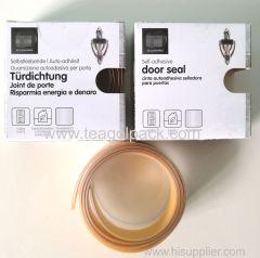 2.8cm Wx100cm L Self-Adhesive Door Seal Strip