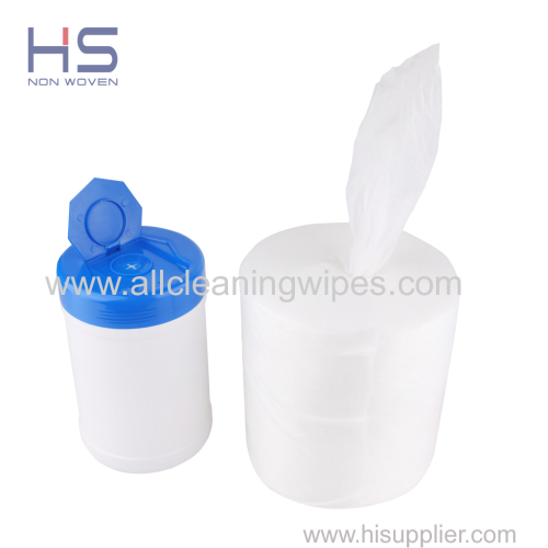 Nonwoven Dry Wipes for Wet Wipes in Bucket