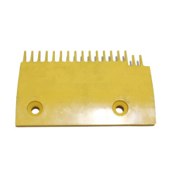 LG-Sigma Escalator Lift Parts DSA2000168-R Yellow Plastic Comb Plate Right