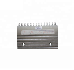 Otis Escalator Lift Parts XAA453AB7 Silver Aluminium Comb Plate