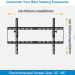 "CE Approved 23""-60"" Plasma LED LCD TV Bracket Wall Mount MAX VESA 600*400"