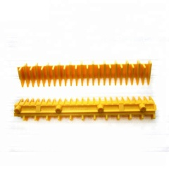 Otis Escalator Spare Parts GAA455BX1 Yellow Strip Plastic Demarcation
