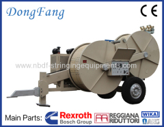 Hydraulic Tensioner 16 Ton for stringing two conductors on 1000KV transmission line