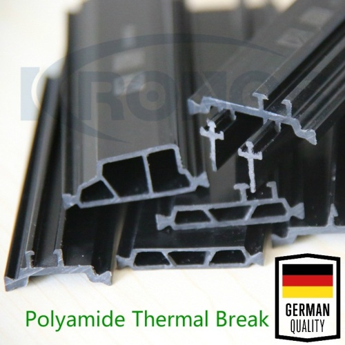 39mm Shape HK Hollow Chamber Polyamide Thermal Break Profiles