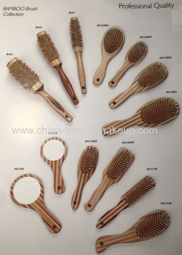 Professional quality bamboo brushes hair brushes beauty accessories tools makeup accessories