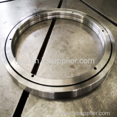 Crossed roller slewing rings made in china with size 35X60X10mm