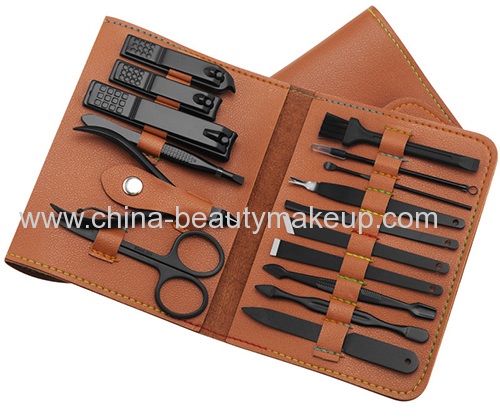 Professional quality manicure kit portable suits travel sets nail tools pedicure tools beauty tools personal care tools
