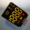 Hot sales 3 Pins Ultra white / Red SMD LED Display Common Anode for Forehead Thermometer