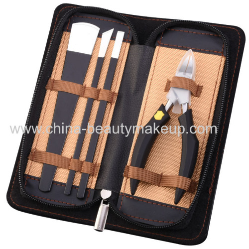 High quality pedicure tools pedicure kit pedicure suits pedicure knifes cuticle nippers foot care tools