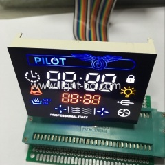customized display;oven timer;multicolour display;custom display