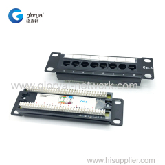 8 PORT CAT.5E OR CAT.6 OR CAT.6A PATCH PANEL