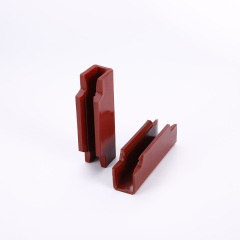 Mitsubishi Elevator Spare Parts 120mm*10mm*16mm Elevator Guide Shoe Boot Lining