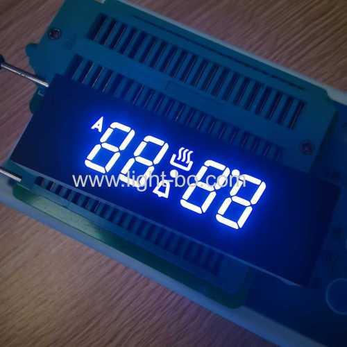 ультра белый индивидуальный 4-значный 7-сегментный светодиодный дисплей общий анод для цифрового таймера духовки