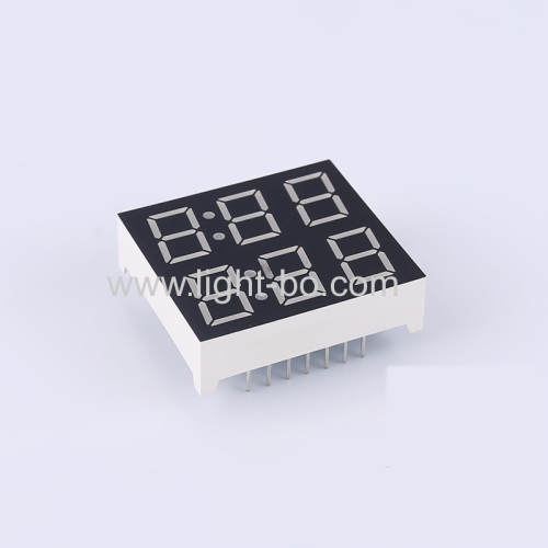 Customized dual line 3 Digit 7 Segment LED Display common cathode for home appliances