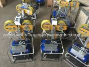 OPGW Stringing Equipment Mobile traction machine exported