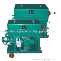 LY(BASY) Hydraulic Lube Used Oil Filter Press Machine Portable Plate and Frame Filter Press Pressure Oil Purifier