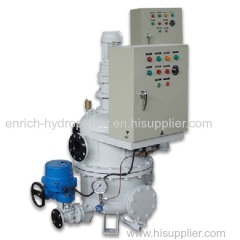 Dls Zlsh Vertical Completely Fully Automatic Water Filter for technical water supply for Hydropower Plant HPP HEPP SHPP