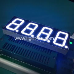 white display;4 digit display; 4 digit 0.8