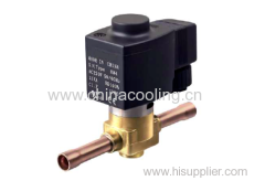 solenoid valve used for HVAC unit system