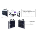 SOLAR POWER BANK WITH BATTARY/PORTABLE SOLAR PANEL/SOLAR POWER SOURCE