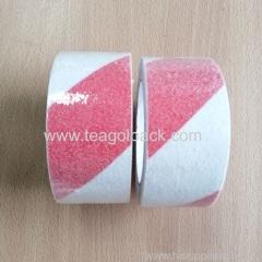Red&White Anti-Slip Tape Customized size