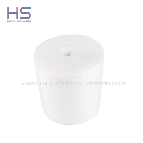 Non-woven fabric dry wipes canister 100 % Polypropylene dry wipes