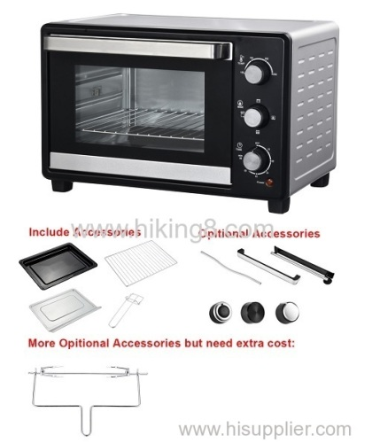 Home Use Double Layer Portable Appliance Electric Oven