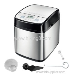 Hot Sell Household Fully Automatic Electric Programmable Digital Bread Maker Machine