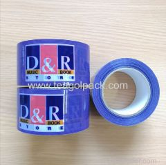 Packing Tape Purple color with Customized Printing