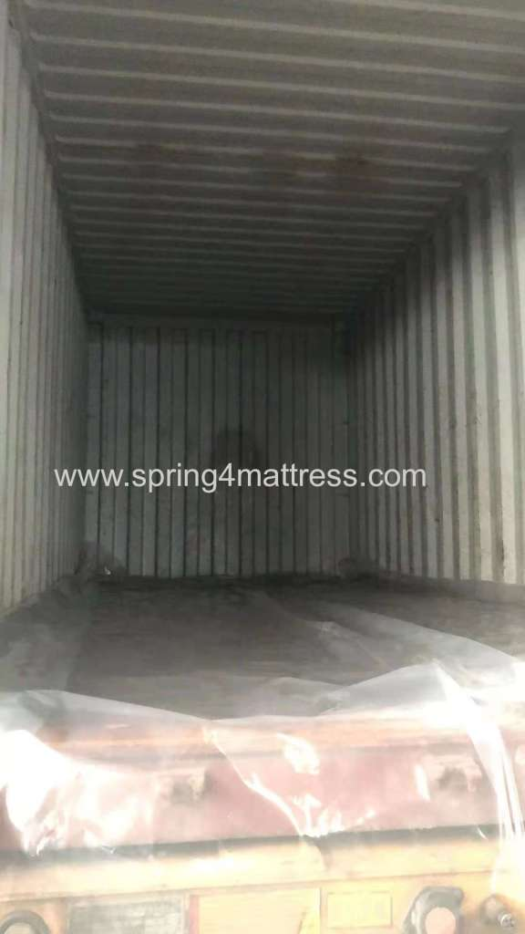 empty container ready for loading