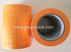 19mmx50M Washi Tape Paper Core Yellow (Masking Tape)