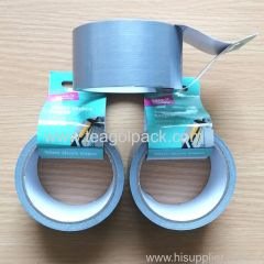 48mmx10M Cloth Duct Tape Silver Color
