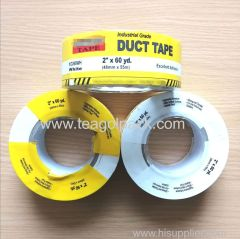 48mmx55M White Industrial Grade Duct Tape with Printed Shrink film 2