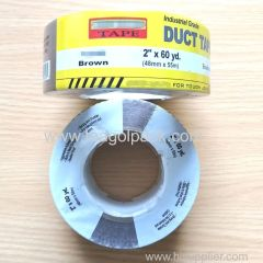 48mmx50M Brown Adhesive Duct Tape With Printed Shrink Film 2